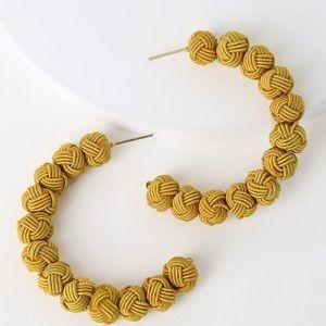 🔥🆕 Pom Pom Hoop Earrings